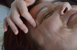 Marma ansikte beskuren